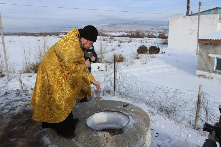 В Улан-Удэ освятили главный водозабор