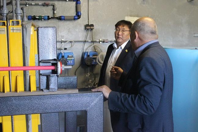 Городской «Водоканал» запустил  безопасную хлораторную станцию по обеззараживанию воды